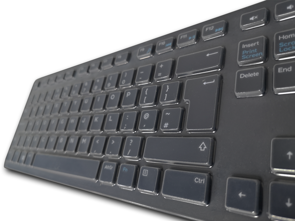 SteriType keyboard cover on Dell keyboard
