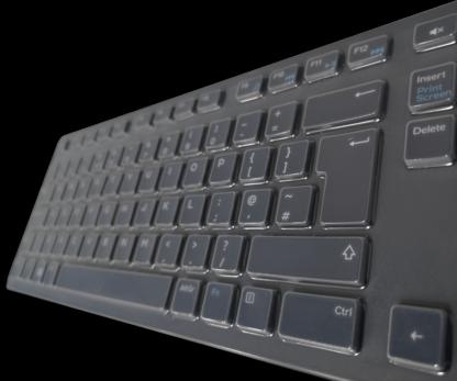SteriType keyboard cover on Dell keyboard
