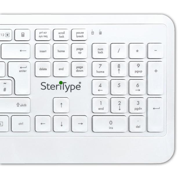 SteriType Hygenic Keyboard